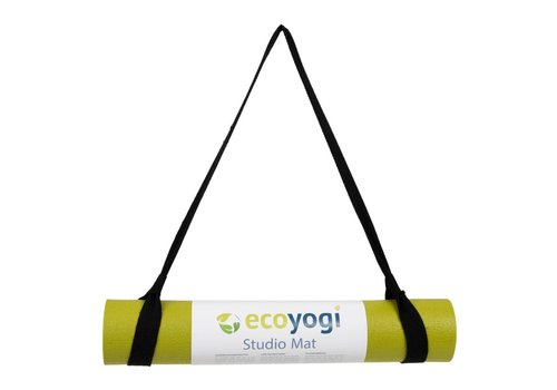 Ecoyogi Easy Sling - yoga mat draagriem - Zwart