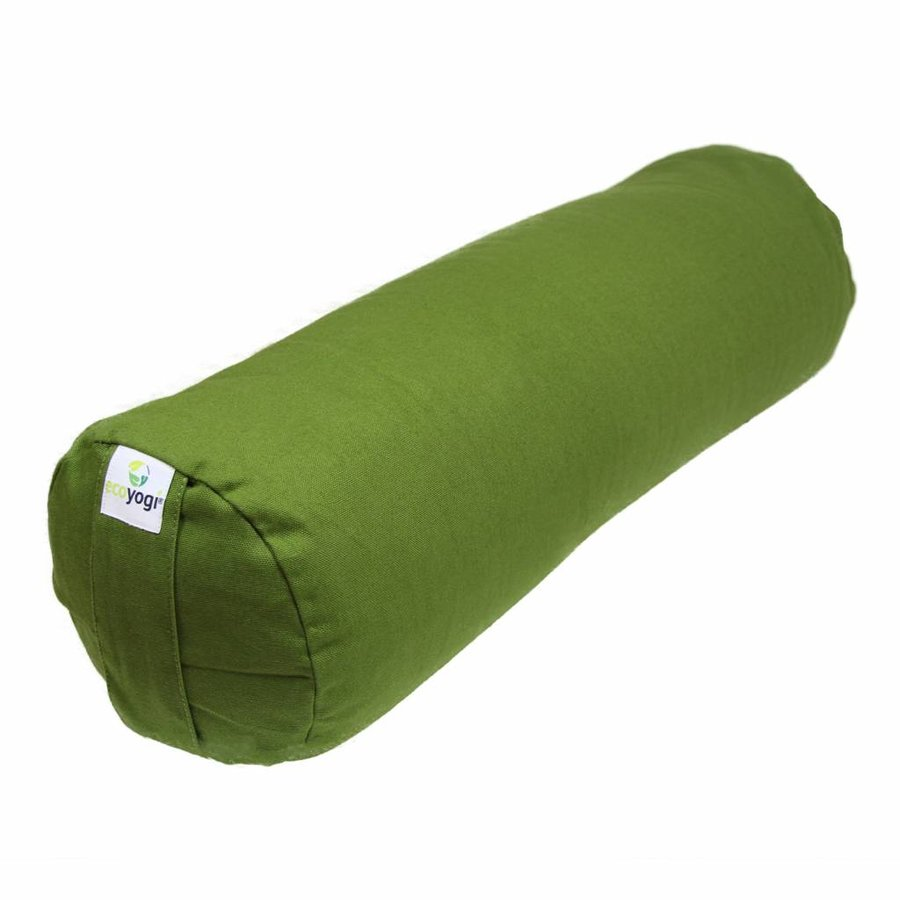 Yoga bolster groen