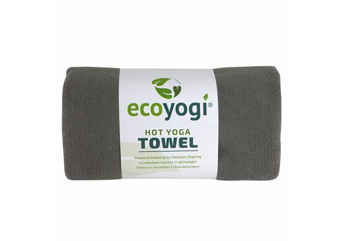 Ecoyogi Hot Yoga Towel - Grijs