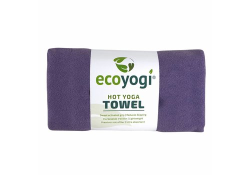 Ecoyogi Hot Yoga Towel - Paars