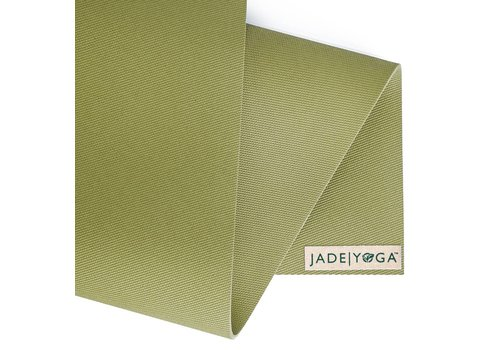 Jade Yoga Harmony Mat 173 cm - Olijf Groen (5mm)