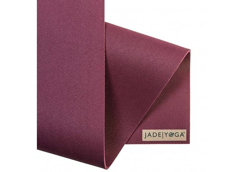 Jade Yoga Harmony Mat 173 cm - aubergine (5mm)
