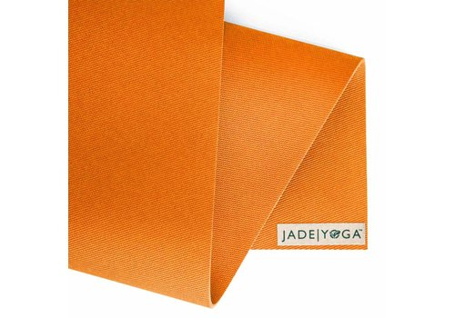 Jade Yoga Harmony Mat 173 cm - Tibetan orange (5mm)