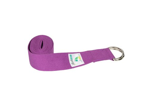 Ecoyogi Yoga riem - Lavendel