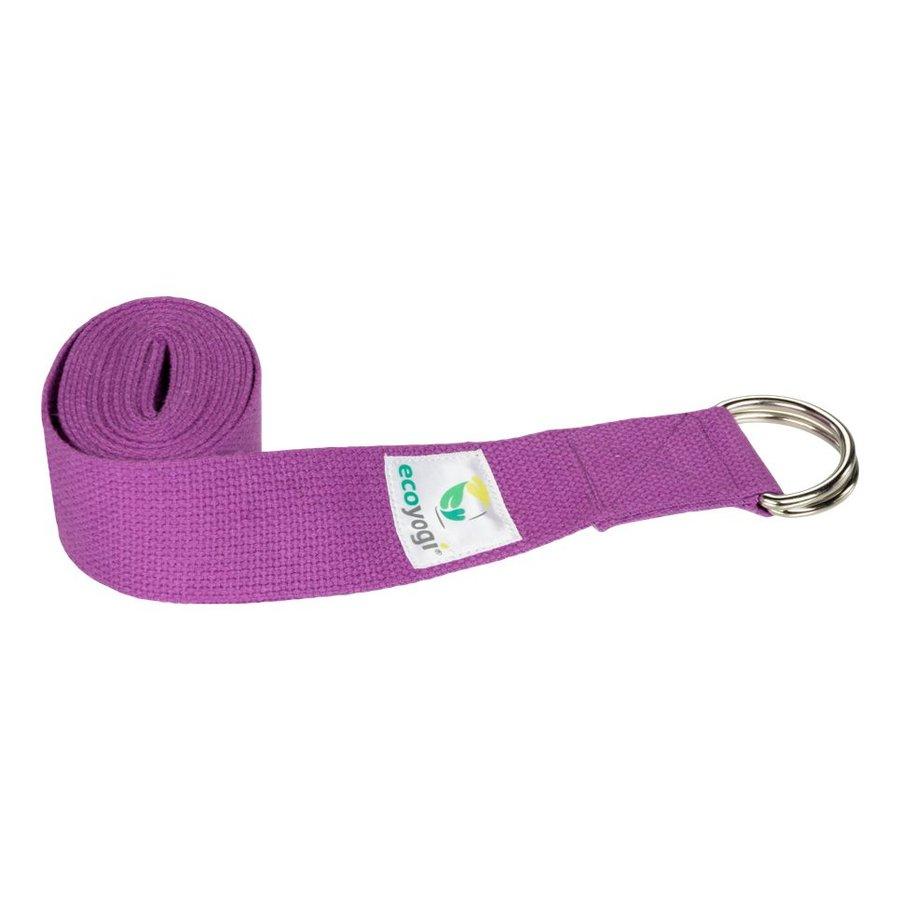 Yoga riem - Lavendel