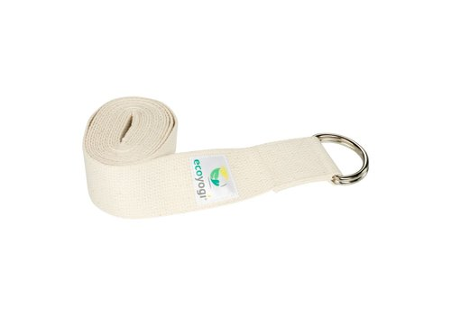 Ecoyogi Yoga riem - Naturel