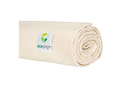 Ecoyogi Organic Cotton Yoga Mat Crème