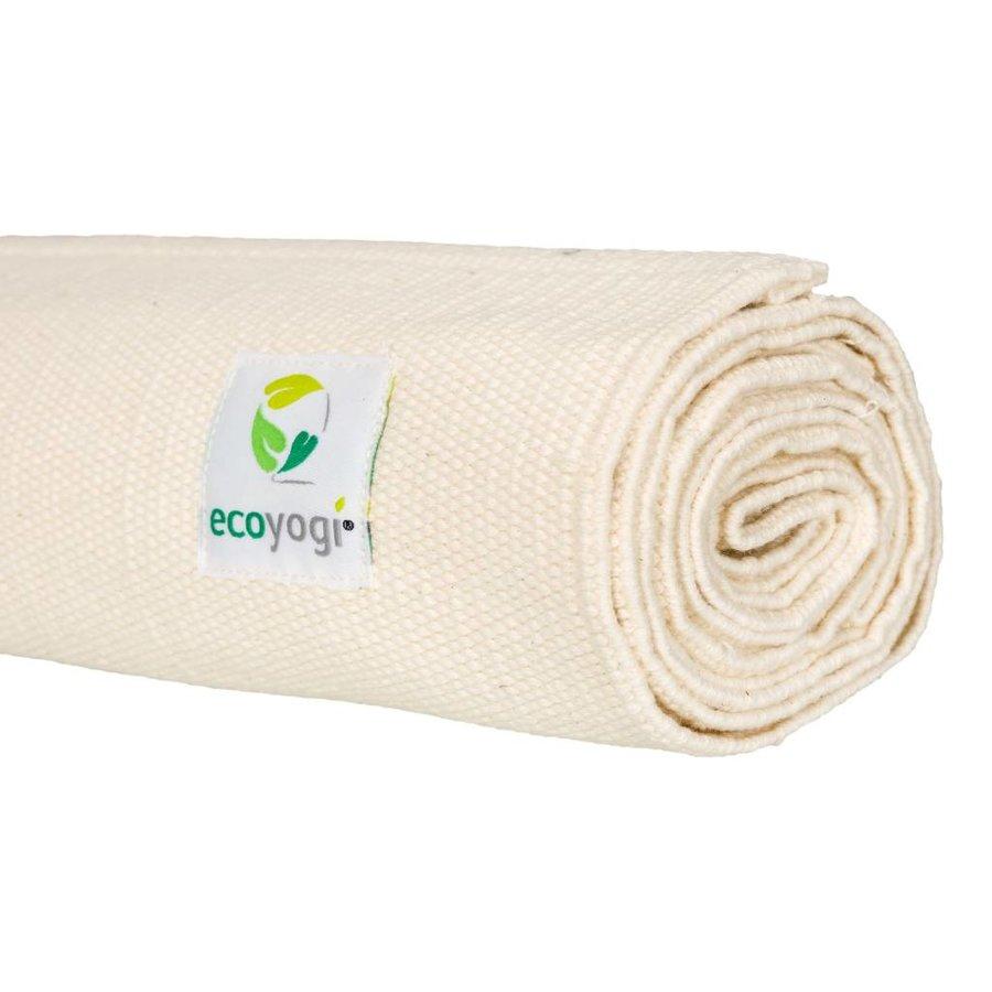 Organic Cotton Yoga Mat Crème
