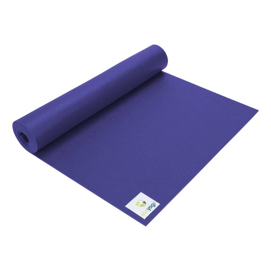 Op FairFrog: Ecoyogi Studio Yoga Mat - Paars