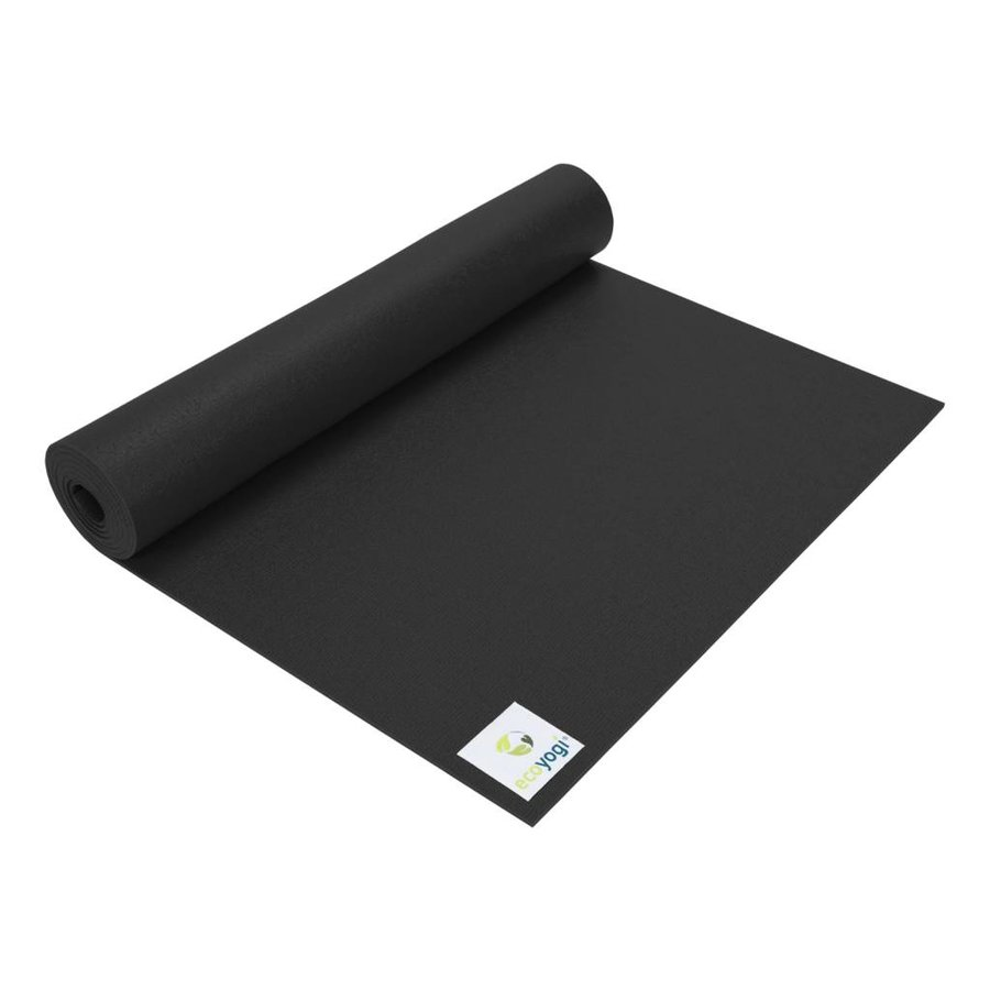 Studio yoga mat Zwart - Extra lang