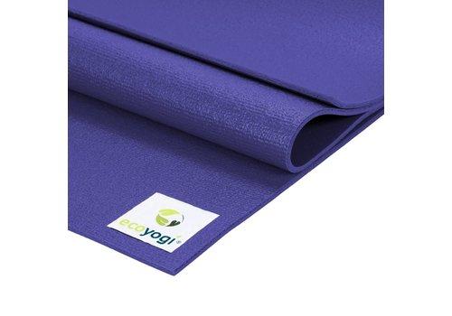 Ecoyogi Studio yoga mat Paars - Extra lang
