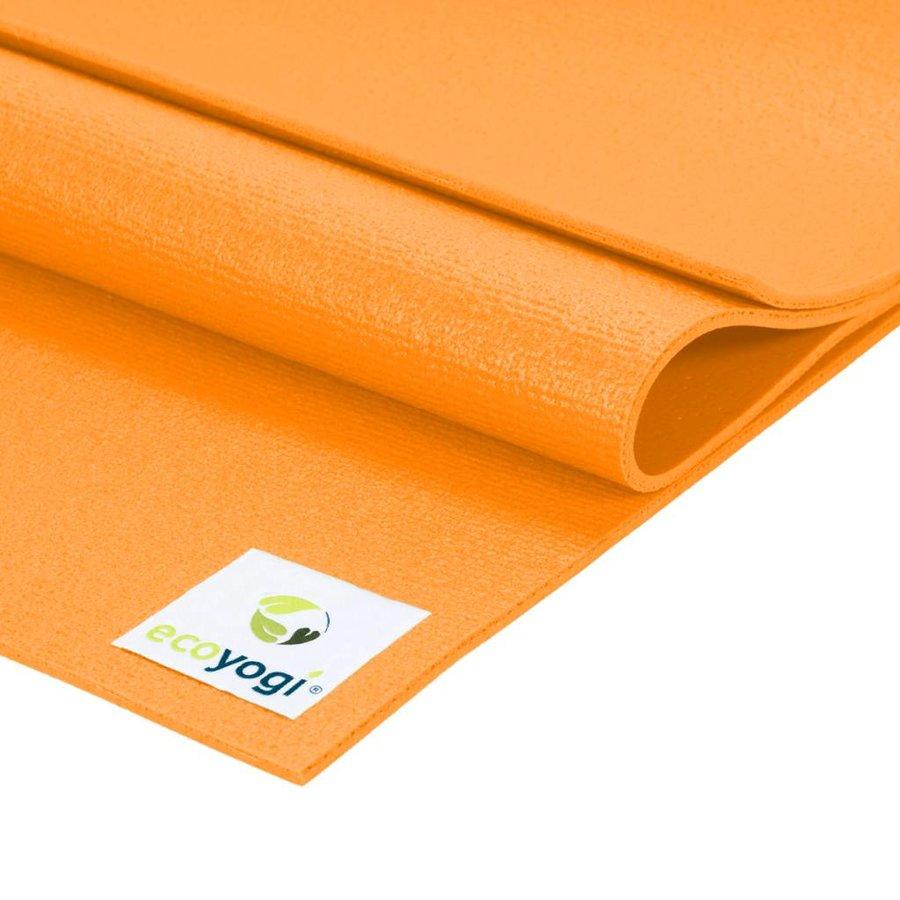 Studio yoga mat Oranje - Extra lang