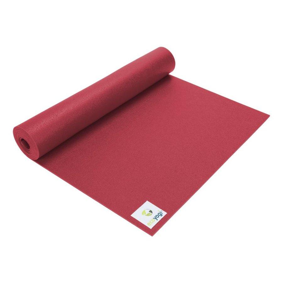 Studio yoga mat Rood - Extra lang