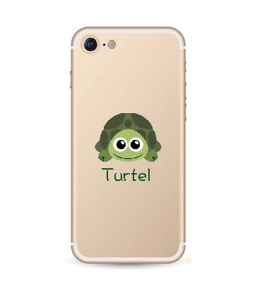 iPhone soft case Turtel