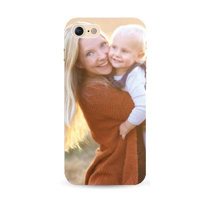 iPhone 7 soft case met eigen foto