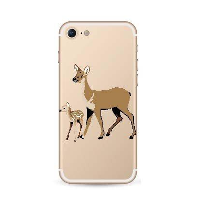 iPhone 7 soft case hertjes