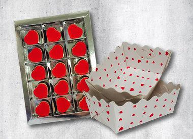 Thema verpakking liefde