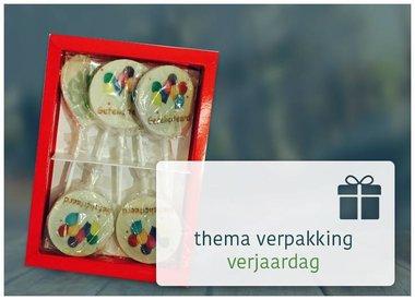 Thema verpakking verjaardag