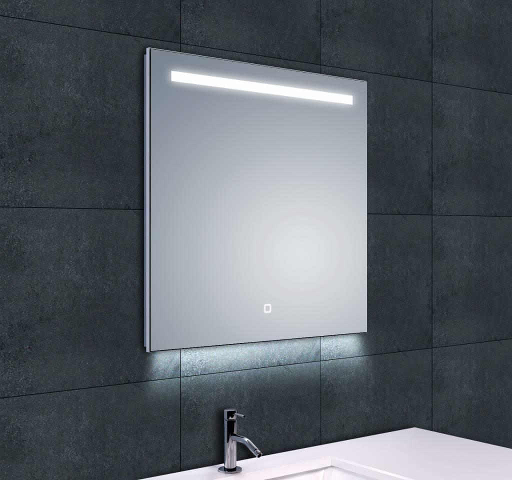Badspiegel 60x60.Ambi One Led Spiegel Condensvrij 60x60