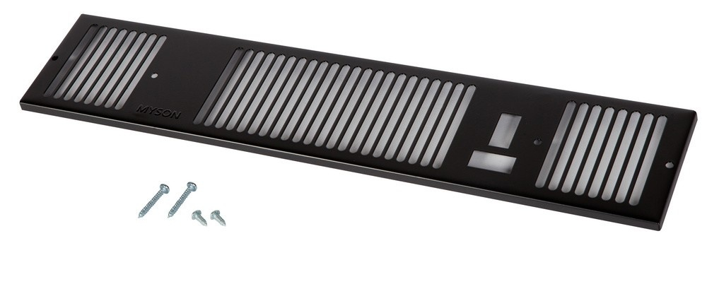 Remeha Kickspace Grille 500 zwart S101823