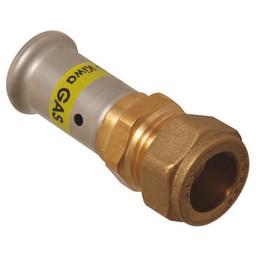 Henco overgang recht pers naar knel 26x22 gas