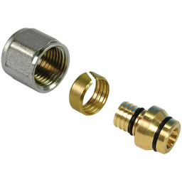 Henco adapter (alu)pex 26x3 voor knelkoppeling 28mm