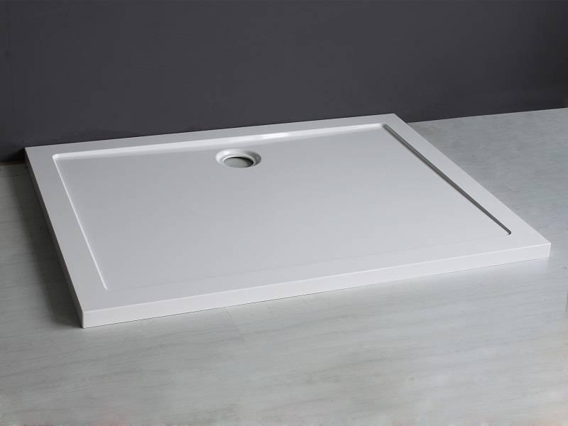 Wiesbaden Luxe douchebak SMC rechthoek 1200x900x4 wit