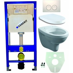 Wiesbaden Geberit UP 100 +Trevi wc+zitt.+ Delta 21 wit