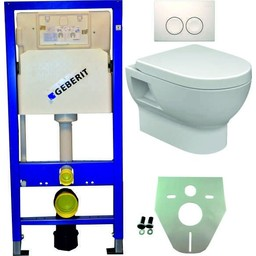 Wiesbaden Geberit UP 100 +Mercurius wc+zitt.+Delta 21 wit