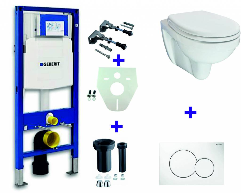 Wiesbaden Geberit UP-320 + Trevi one pack + Sigma 01 wit
