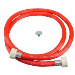 Riko Vulslangset rood + 3/4 wartels recht compleet 150cm