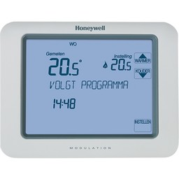 Honeywell Honeywell Klokthermostaat 24V Chronotherm Touch modulation TH8210M1003