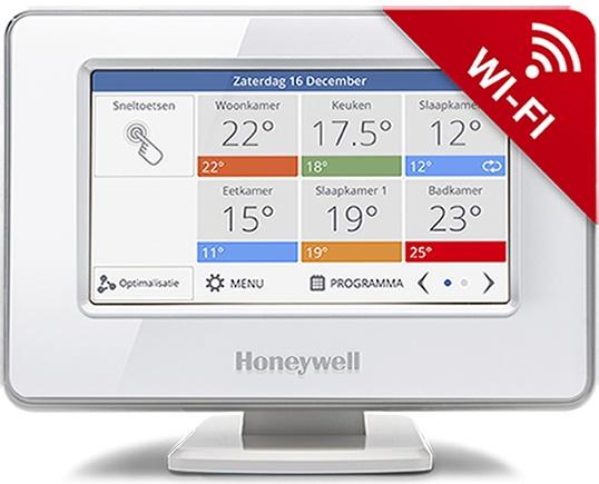 Honeywell Honeywell Evohome Wifi pakket aan/uit ATP92 + 4x HR92