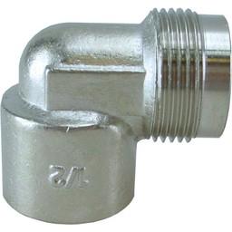 Saniglow Gaskomfoor koppeling haaks 1/2xM24