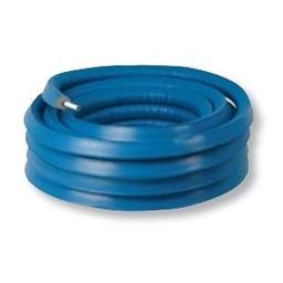 Henco alupex buis 20x2 met isolatie blauw 6mm, rol 50 meter