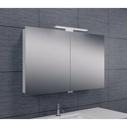 Wiesbaden Luxe spiegelkast + Led verlichting 100x60x14cm