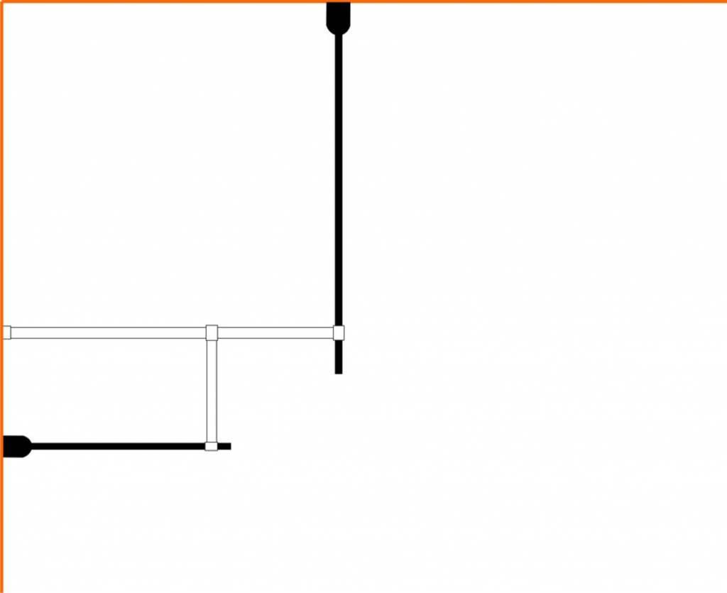 Wiesbaden Wiesbaden inloopdouche combinatie-set 1300x900x2000 10mm nano