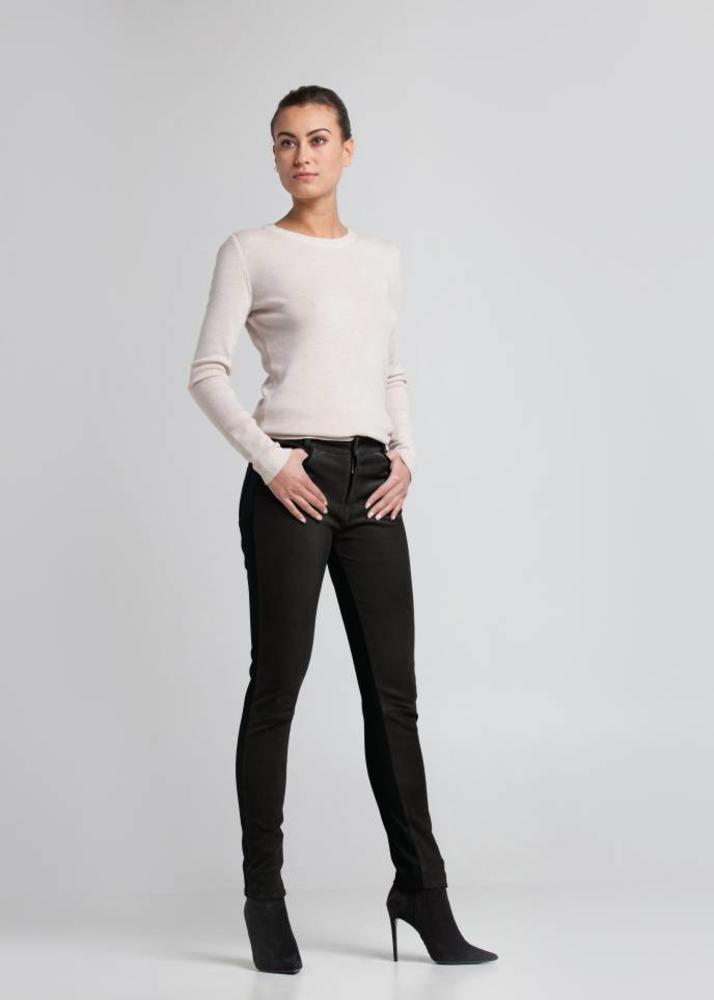 FELICE Schwarze 5-pocket Hose