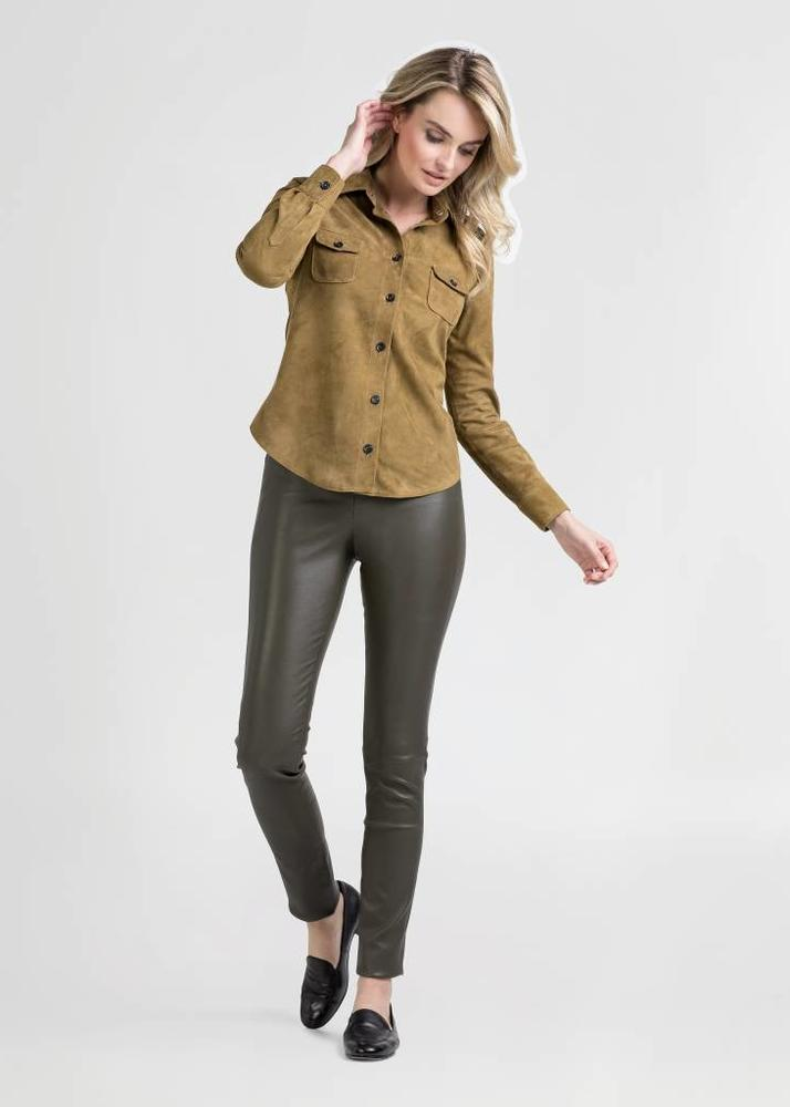 MIMI Army Green Blouse
