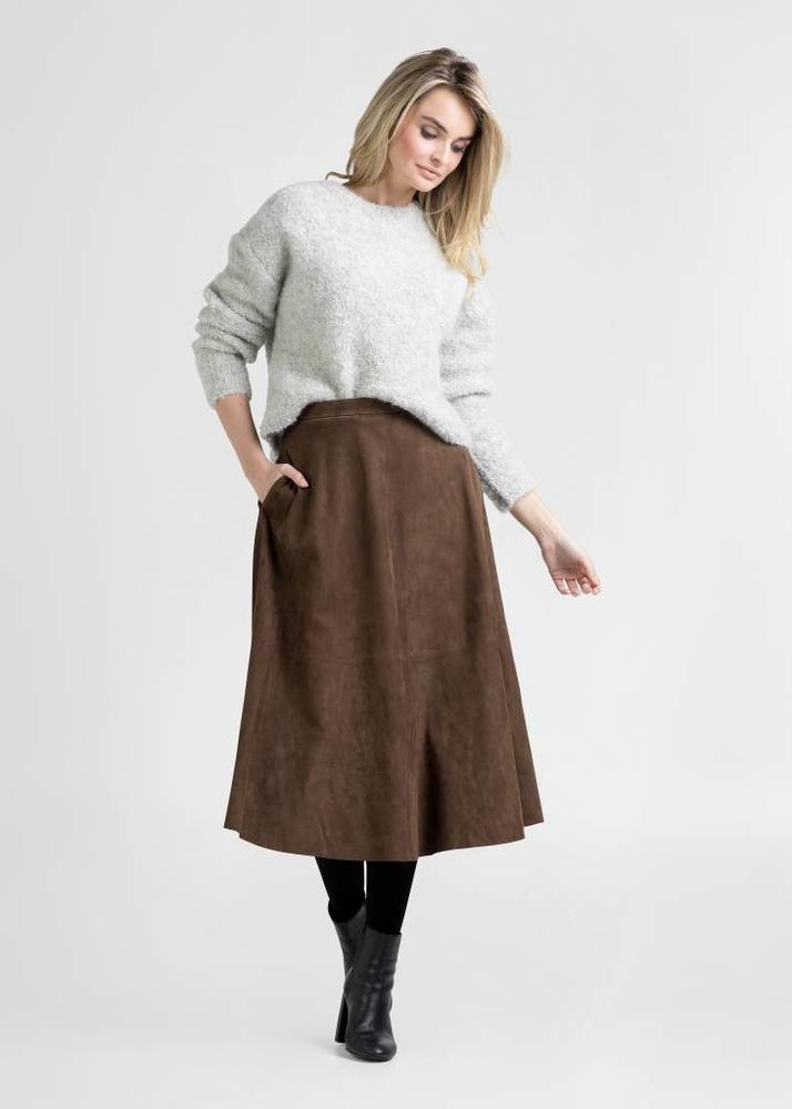 ROSA Brown Skirt