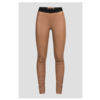 ZINGA Leather Echt Leder Leggings Damen Cognac | Uma 6500