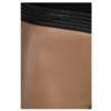 UMA 6500 Leggings aus Stretchleder; hohe Taille und elastischer Bund.