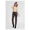ZINGA Leather Echte Lederhose Frauen braun | Birken 6116