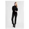 BIRKEN 4999 stretch suede Cropped trousers.