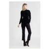 Zwarte cropped broek BIRKEN