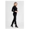 ZINGA Leather BIRKEN 4999 Stretch-Wildleder legging cropped