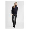 ZINGA Leather DAMEN-LEDERHOSE CROPPED STRAIGHT LEG SCHWARZ | LINA 6999