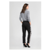 Black Boyfriend pants with Sidestripe EVI