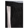 ZINGA Leather SCHWARZE LEDERHOSE MIT GALONSTREIFEN AUS VELOURSLEDER | EVI 4999