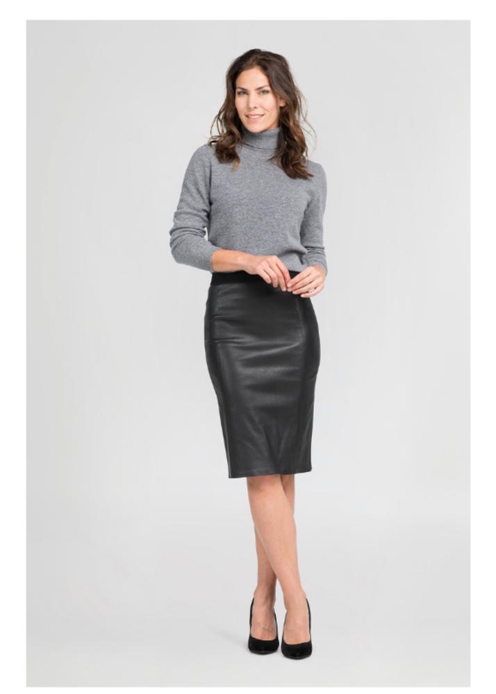 COCO Black Pencil Skirt